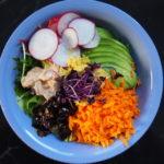 Salad Bowl mit mariniertem Tuna