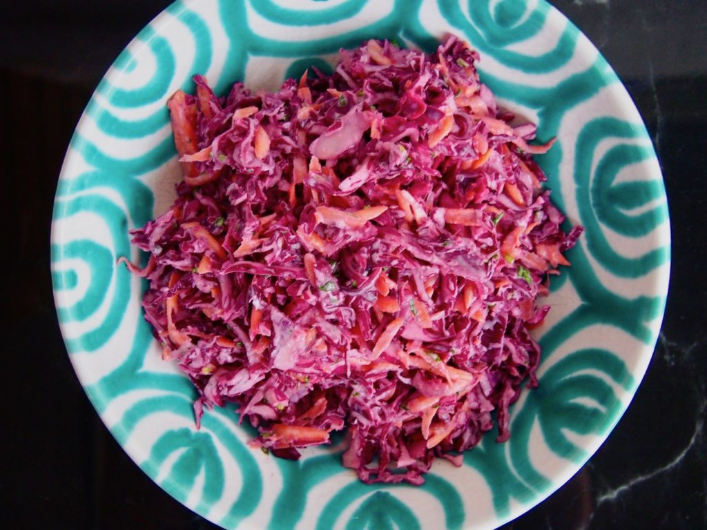 Roter Cole Slaw