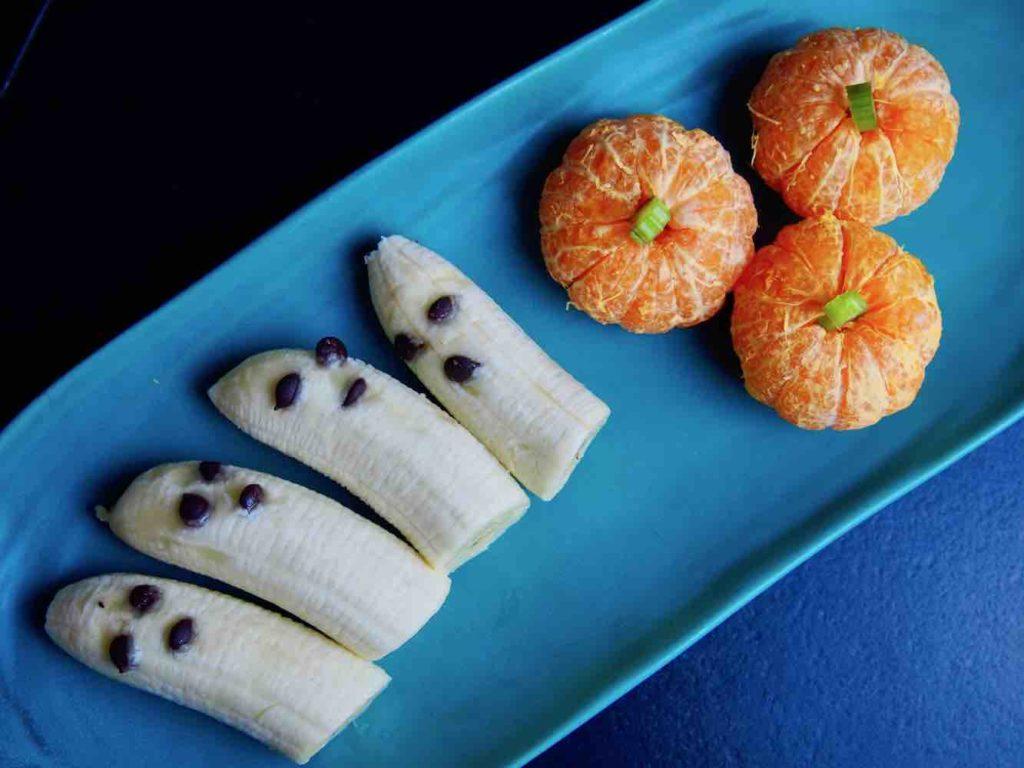 Bananengeister und Mandarinen-Kürbisse