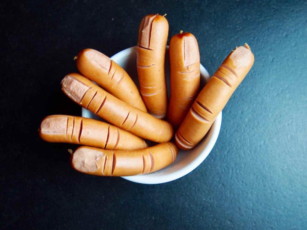 abgeschnittene Würstelfinger