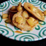 Pancakes mit Birnen und Äpfeln