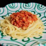 Spaghetti mit Thunfisch-Tomaten-Sauce