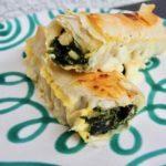 Börekrollen mit Spinat und Käse