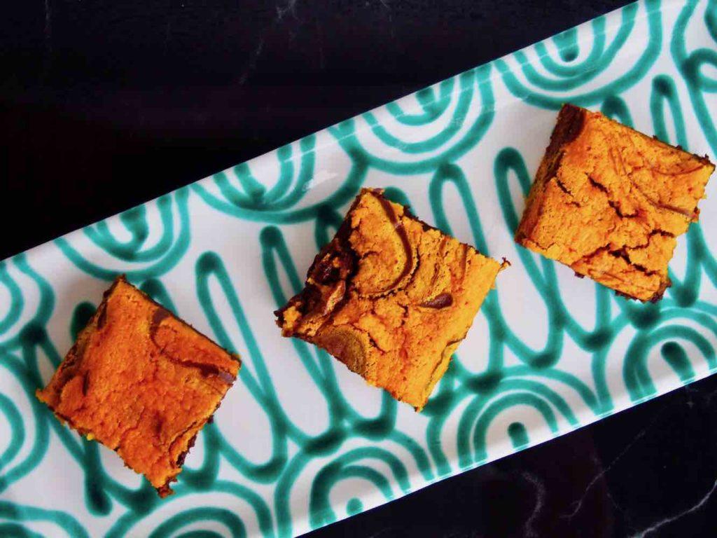 Kürbis-Schokoladen-Brownie